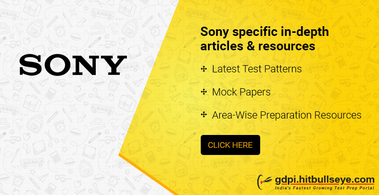 Sony interview Questions: Sony Technical interview questions and Sony HR interview questions asked by Sony in campus placement.