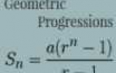 Geometric Progressions: Solved Examples